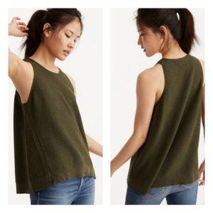 🌴 Lou & Grey Fine Gauge Olive Sweater Knit Tank